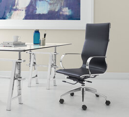 100371 zuo modern office space black office chair-1