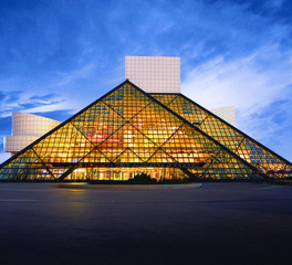 3M Window Film and Architectural Elements Rock n Roll Hall of Fame Window Glass Facade