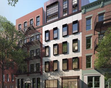Exterior view of the Condominium facing south
