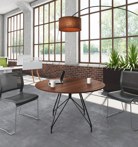 Cleanability is key for chairs that seat a variety of users in the course of a day. Kip makes cleaning and disinfecting easy with a simple 10:1 water-to-bleach ratio.
