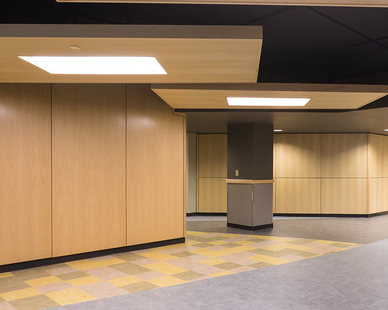 Intentionally engineered to offer pleasing design along with unmatched acoustic benefits, Microperf Acousticore perforated wood acoustic panels offer a truly seamless integration of acoustic materials into all types of projects.