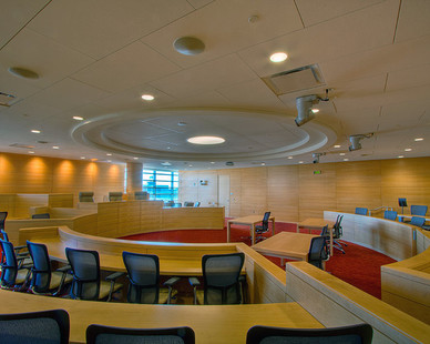 Microperf Acousticore decorative sound absorbing wall panels are intended to pair seamlessly with your existing or planned designs, making them an easy fit for any room.