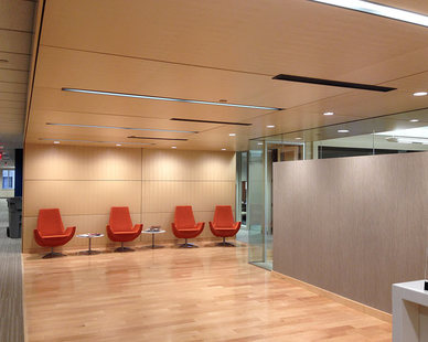 Microperf Acousticore decorative sound absorbing wall and ceiling panels are intended to pair seamlessly with your existing or planned designs, making them an easy fit for any room.