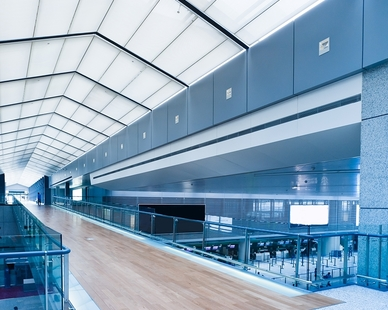 Our unique Silk Metal Ceiling Tiles are state-of-the-art micro-perforated aluminum sound absorber panels that reduce echo and sound reflections.
