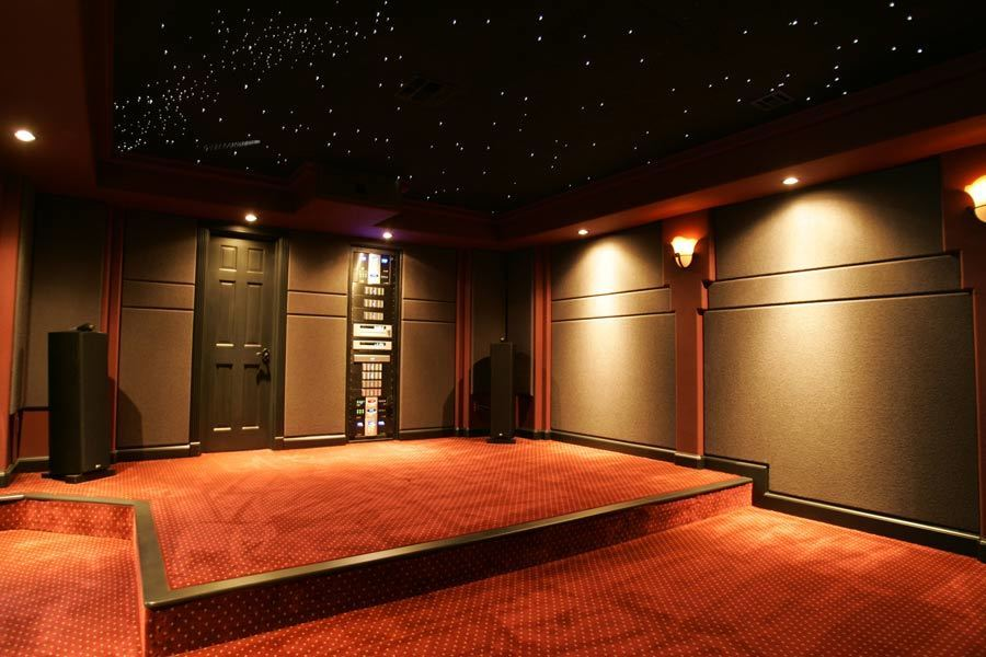 Acoustical Surfaces Sound Silencer panels help to keep the music jamming out but only in the space it's intended for.