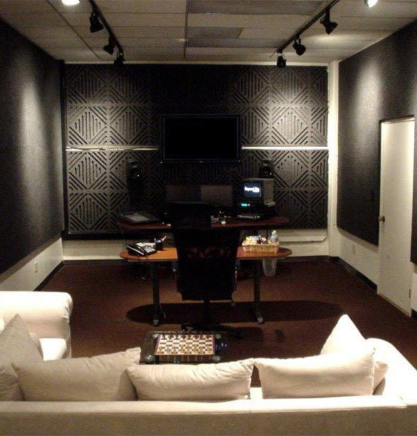 Keep the music in the room with these Sound Silencer panels by Acoustical Surfaces.
