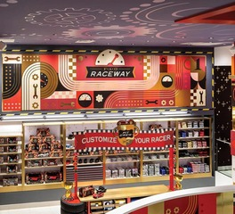 Acuity Brands FAO Schwarz Sales Floor