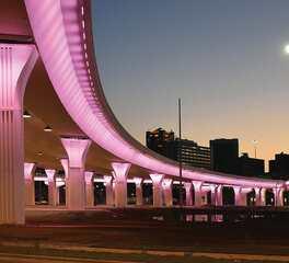 acuity brands highway bridge overpass exterior lighting