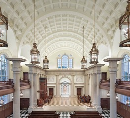 Acuity Brands Hillsdale College Christ Chapel Interior Chapel Lighting