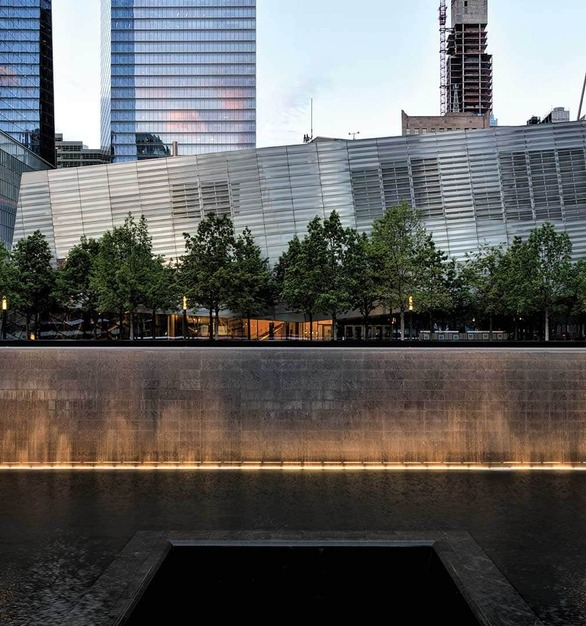 National September 11 Memorial & Museum is located in New York City, New York commemorating the September 11, 2001 attacks featuring lighting products by Acuity Brands - Winona® Lighting. Project in collaboration with Fisher Marantz Stone Architectural Lighting Design.  Photographer:Aaron Shaw  Note: The name and image of the 9/11 Memorial are trademarks of the National September 11 Memorial & Museum at the World Trade Center. Used by permission.