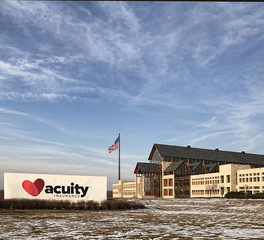 Acuity Insurance Headquarters | In Floor Cellular Raceway System