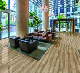 Adore Flooring Hotel Lobby Design LVT