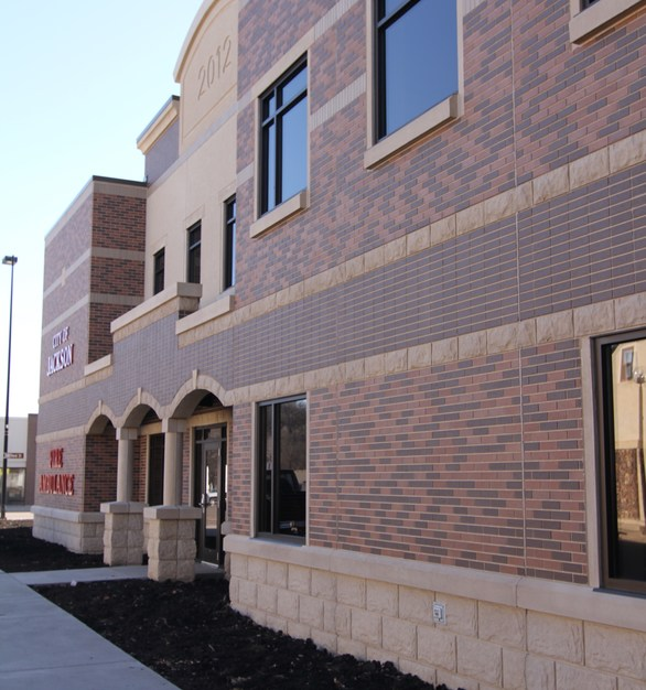 Advanced Formliner's embedded brick system helps bring the character of brick to the convenience of precast building solutions.