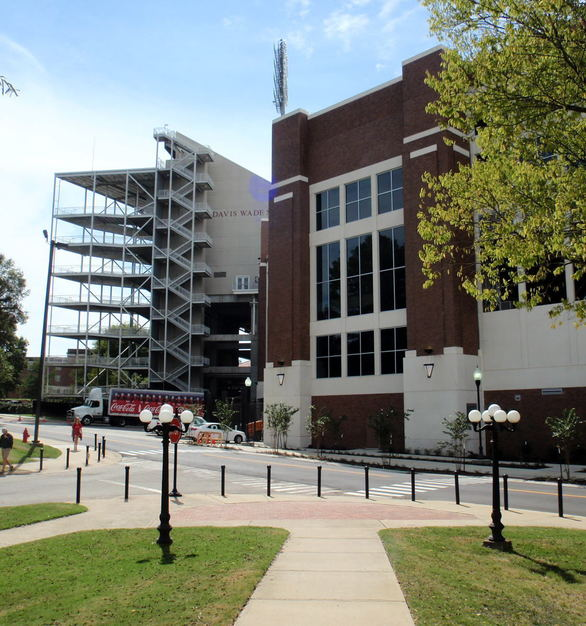Advanced Formliners was trusted to bring the character of brick using our thin brick system to Mississippi State's Davis Wade Stadium.