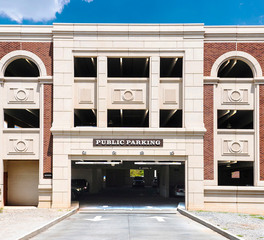Advanced Formliner Solocast Alpharetta Parking Structure Brick Exterior West Entry