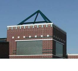 Aledo junior high school exterior
