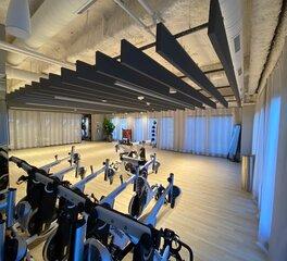 american drapery wells fargo center fitness center