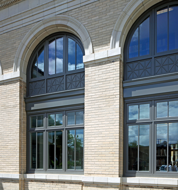 The Andersen® E-Series windows were chosen to renovate the windows throughout the Gloversville Public Library.