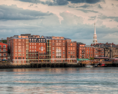 Martingale Wharf offers 52,000 square feet of stunning office and retail space, featuring the closest proximity to the water of any building in downtown Portsmouth.