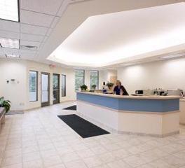 Animal Hospital Reception Area