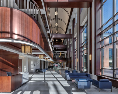 Antunovich and Associates DePaul University School of Music Holtschneider Performance Center Design