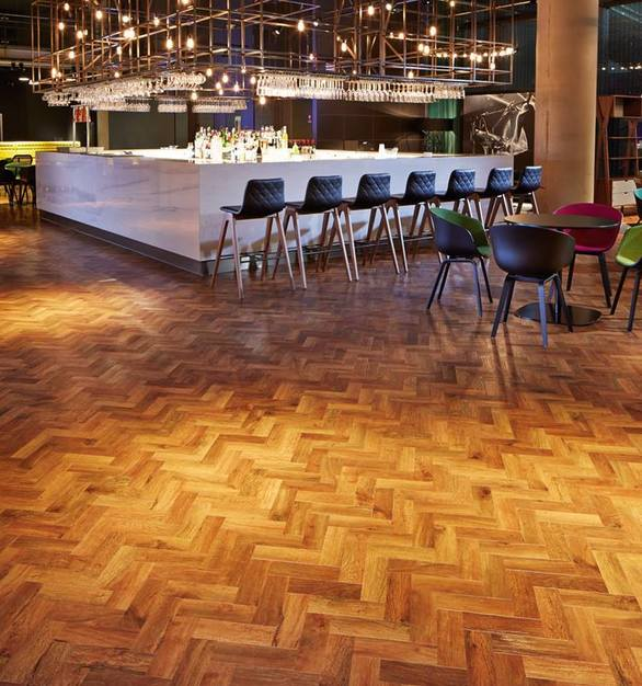 Unlike flooring that is supplied in sheets and rolls, the convenient tile and plank formats can easily be individually replaced, rather than having to replace the whole floor.