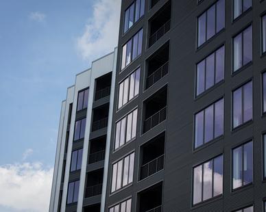 Apartment Complex Facade Design Star Metals Atlanta