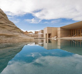 Aqua Design International Amangiri Canyon Point Utah Luxury Hotel Exterior Pool