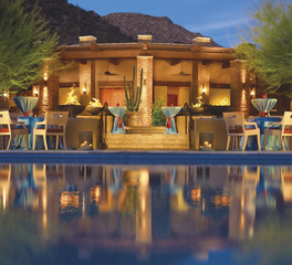 Aqua Design International Ritz Carlton Dove Mountain Marina Arizona Hospitality Hotel Design Exterior Seating and Lounge Area