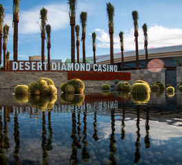 Aqua Design International West Valley Desert Diamond Casino Entrance Water Fountain Design