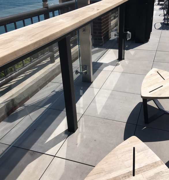 With slabs as large as 96″ x 48″, planks as long as 94″ and cobblestone blocks as small as 4″ x 4″, there's a size for every application, either supported by adjustable height pedestals for rooftop decks, laid over sand or gravel, set among grass, mortar set over concrete for vehicular applications, or as deck flooring for self-contained modular decks