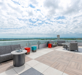 Archatrak First International Bank and Trust Bismarck North Dakota Roof Deck City View