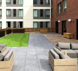 Archatrak Mercentile Residence Inn Missoula Montana Rooftop Deck