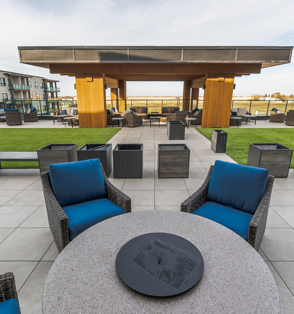 As developers continue to design with the concept of community in mind, the need to design a space that fosters more inclusive gathering spaces becomes increasingly relevant. Creating such a space requires durable, adaptable and aesthetically appealing products. With an unsurpassed range of color options, Archatrak porcelain pavers not only bring beauty and creativity to outdoor spaces- their impermeable surface makes them extremely low maintenance and highly durable, especially Archatrak's T30 3cm porcelain pavers.