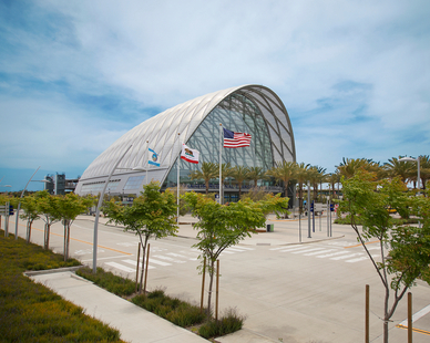The Anaheim Regional Transportation Intermodal Center, better known as ARTIC, provides rail, bus, taxi and other services for daily commuters, visitors and leisure travelers.