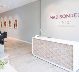 ASI Architectural Systems Madison Reed interior front desk