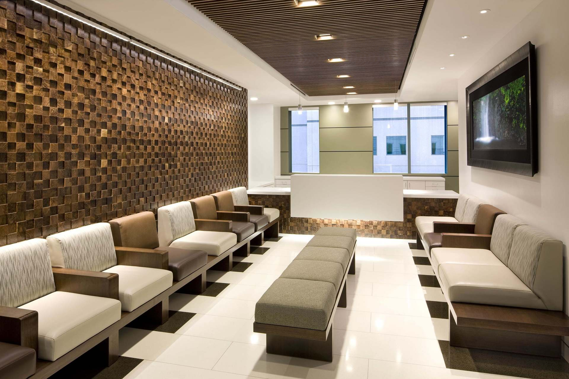 Asi Architectural Systems Ucla Medical Plaza Fusion Wood Panels Waiting Room Design