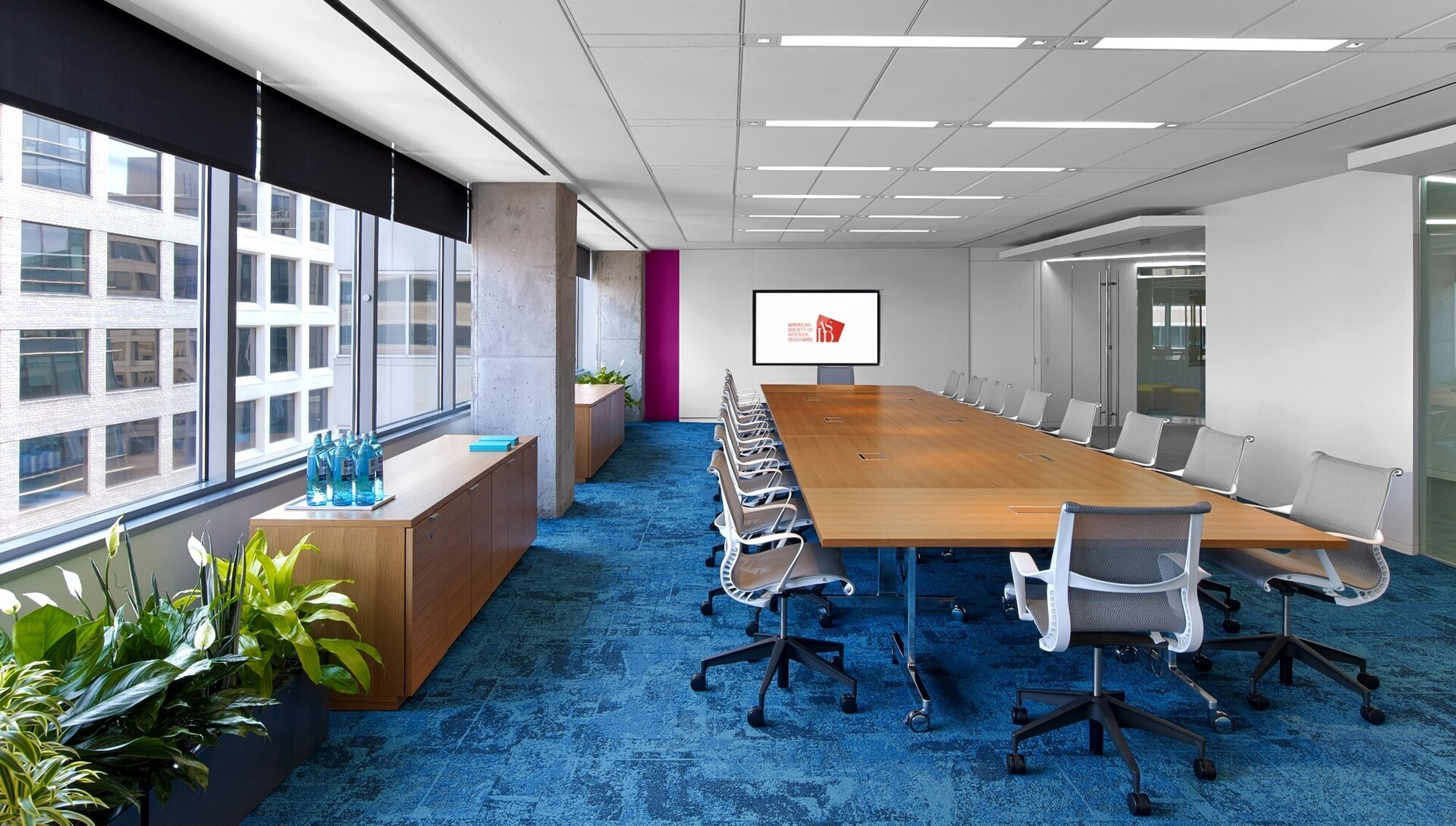 ASID's Headquarters features a variety of products by ASID chapter members.  Photography by: Eric Laignel
