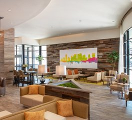 Atwater Inc. Studio Holiday Inn interior lobby 2