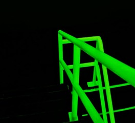 Bambu stairs vibrant