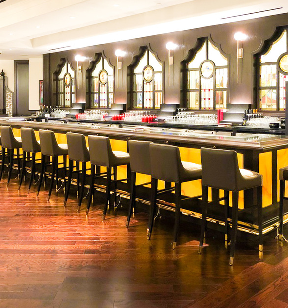 Stunning lighting can be found at China Ting restaurant located at the MGM Grand in Las Vegas, Nevada. Lighting is provided and designed by LEDCONN.
