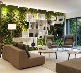 BASWA acoustic North America Phon Fine Hospitality Design Hotel Le Saint Antoine Guest Common Area