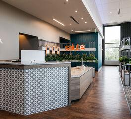 Bauer Design Build Salute Dental Modern Reception Design