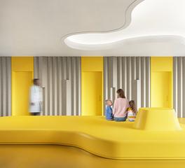 bench seating durasein cheerful yellow