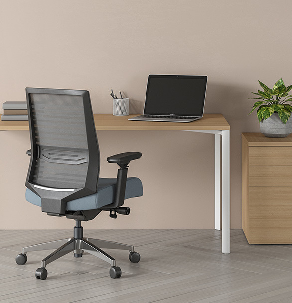 Ideal for the budget-minded, the Beniia chairs offer standard ergonomic features and stylish design to help make everyone's workday better.