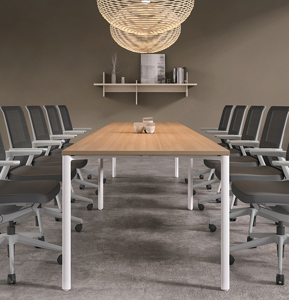 Vello is at home in conference rooms, collaboration spaces, training environments, and light task applications. It's the chair that does more.