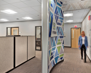 Benike Construction worked with Vyriad to complete their office and medical research facility in Rochester, Minnesota.