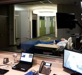 bergland cram health simulation center north iowa area community college Patient room