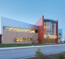 Bergland + cram iccc bioscience building exterior