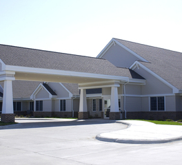 Bergland + Cram kentucky ridge assisted living exterior